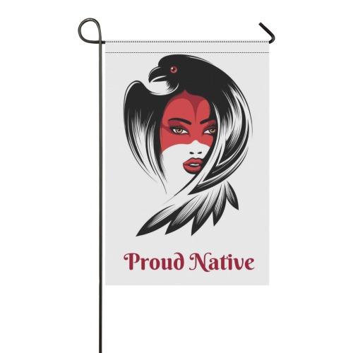 Proud Native 12 Garden Flag 12''x18''(Without Flagpole)