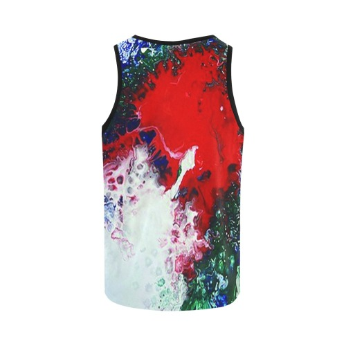 Eruption of Tranquility All Over Print Tank Top for Women (Model T43)