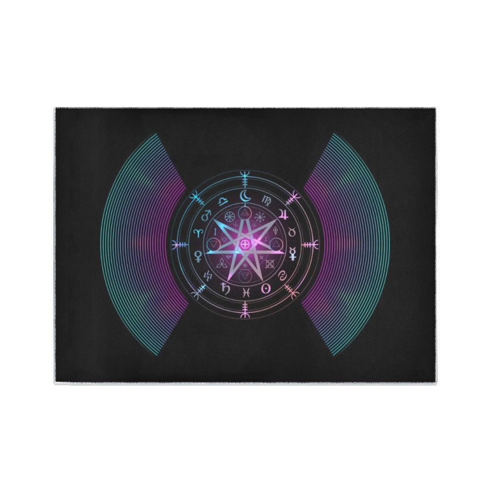 Zodiac Area Rug7'x5'