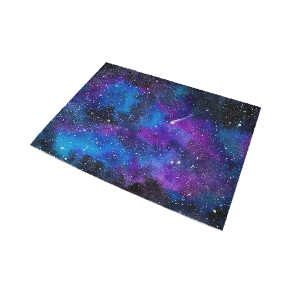 Deep Space - Nebula, Galaxy Area Rug7'x5'