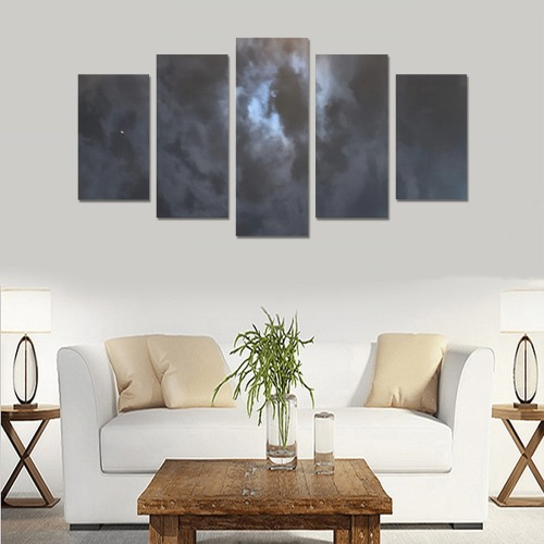Mystic Moon Collection Canvas Print Sets A (No Frame)