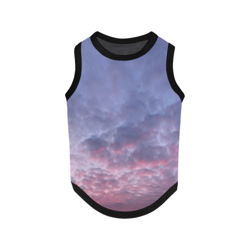 Morning Purple Sunrise Collection All Over Print Pet Tank Top