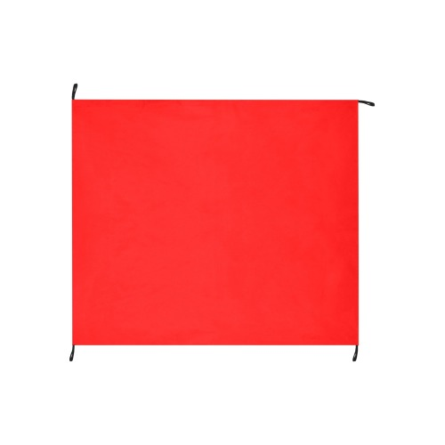 """Merry Christmas Red Solid Color Waterproof Picnic Mat 61""""x55"""""""