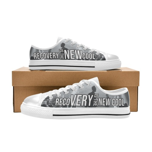 BW & White Women's Classic Canvas Shoes (Model 018)