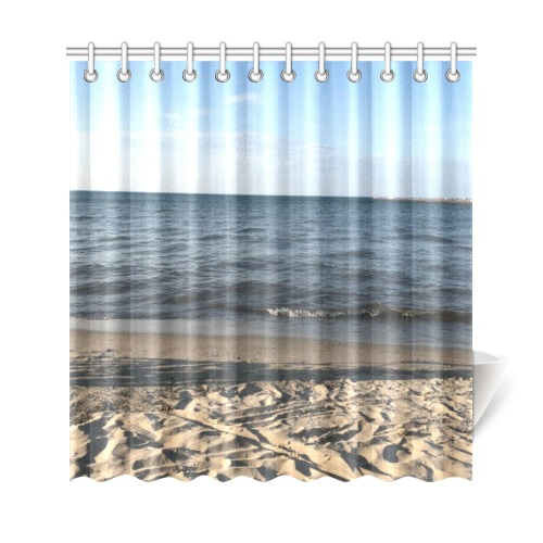 "Beach Collection Shower Curtain 69""x72"""