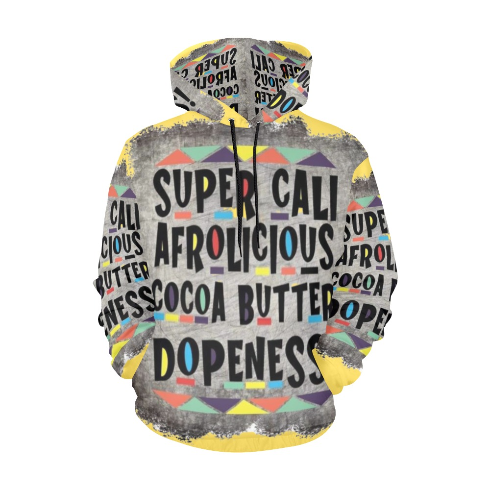 supercali hoodie All Over Print Hoodie for Men (USA Size) (Model H13)