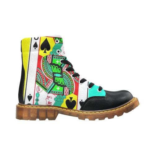 JACK DI PICCHE alt Apache Round Toe Men's Winter Boots (Model 1402)