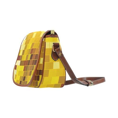 DISCO BALL 2 Saddle Bag/Large (Model 1649)