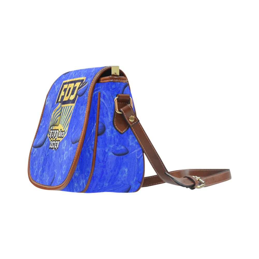 FDJ Pop by Nico Bielow Saddle Bag/Large (Model 1649)