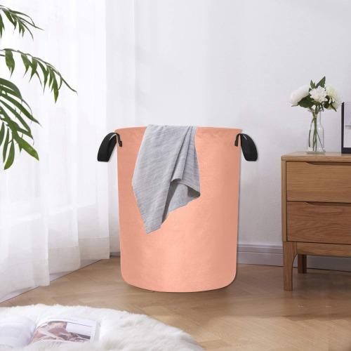 color dark salmon Laundry Bag (Large)