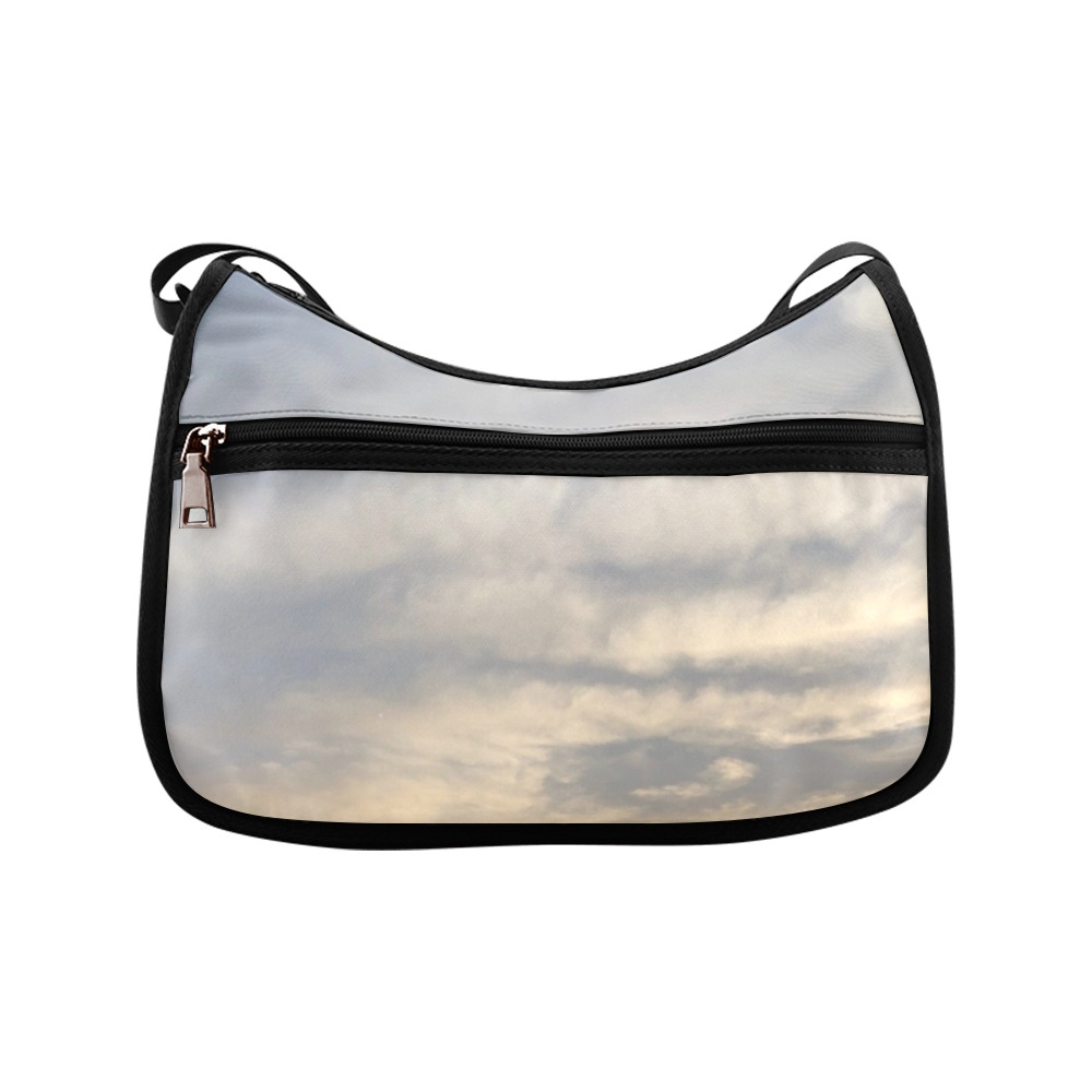 Rippled Cloud Collection Crossbody Bags (Model 1616)