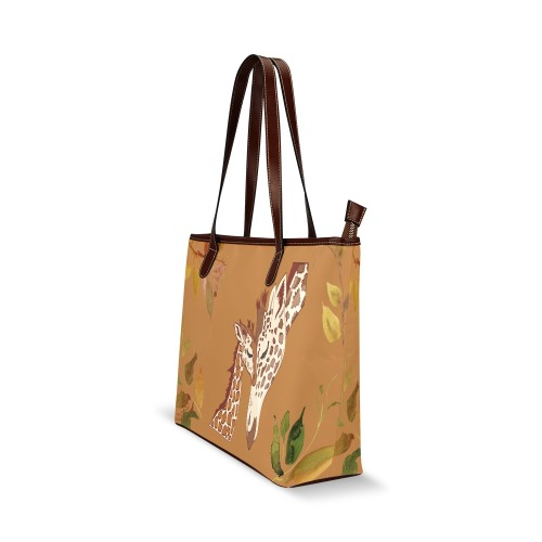 Mommy and me with logo Shoulder Tote Bag (Model 1646)