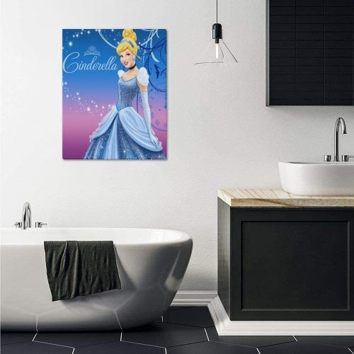 "Cinderella Frame Canvas Print 16""x20"""