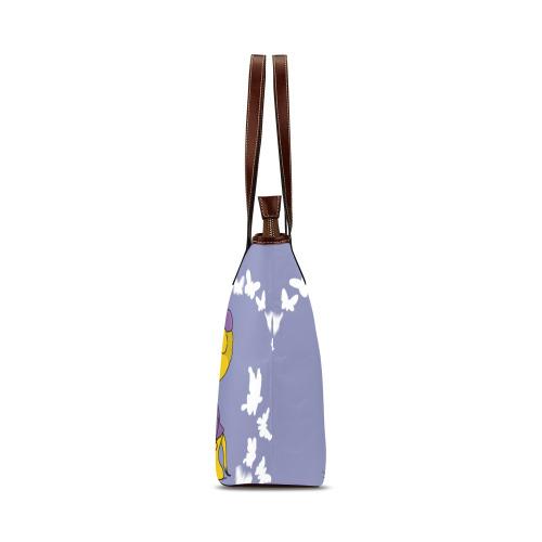 Ferald and Sahsha Ferret Shoulder Tote Bag (Model 1646)