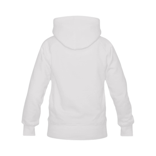 Funny Wacky Comic Cartoon Toothy Expressive Face Men's Classic Hoodie (Remake) (Model H10)