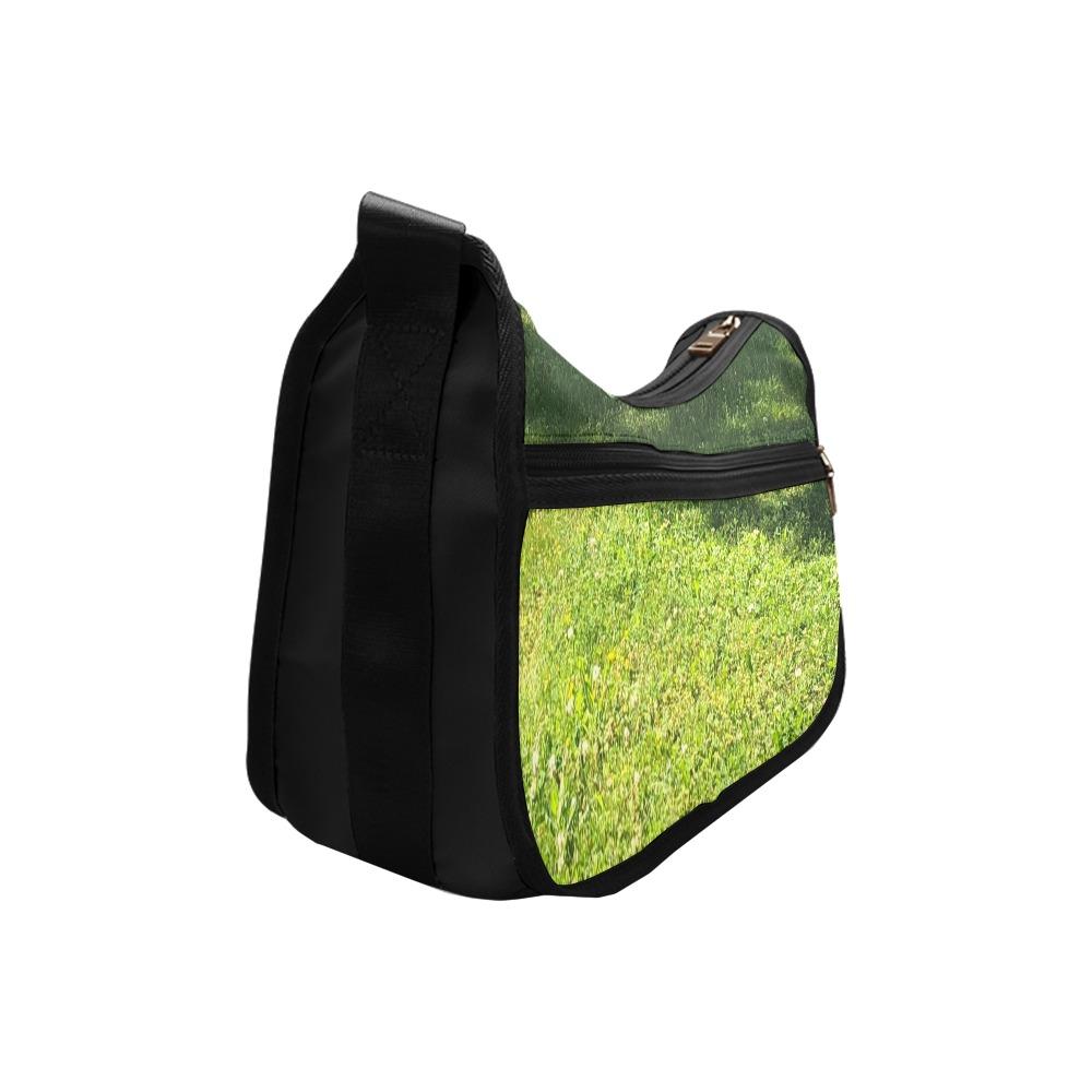 Fresh Grreeen Grass Collection Crossbody Bags (Model 1616)