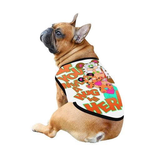 pet bump Lilly and gus All Over Print Pet Tank Top