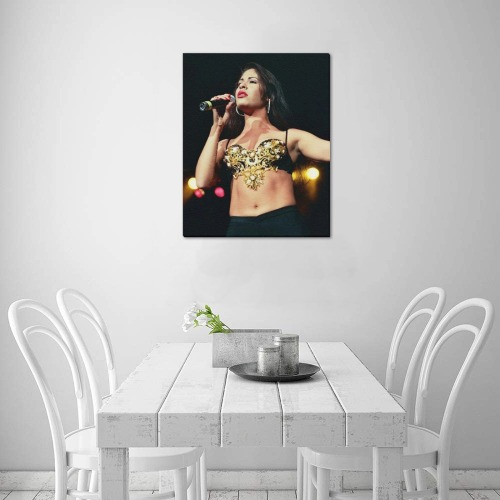 "Selena 4 Frame Canvas Print 16""x20"""