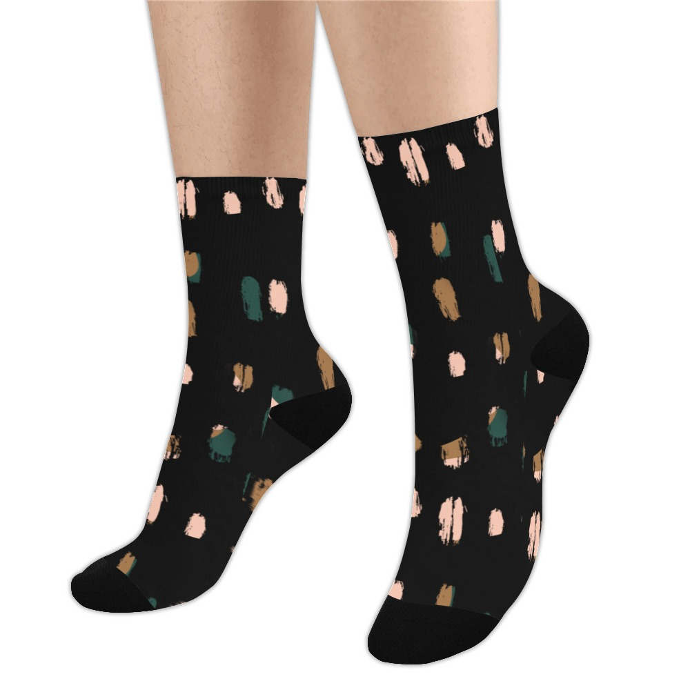 Spots, dots Trouser Socks