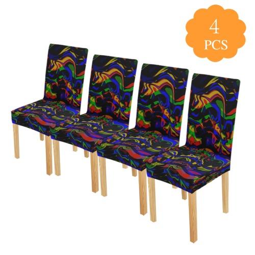 Strange Manner Chair Cover (Pack of 4)