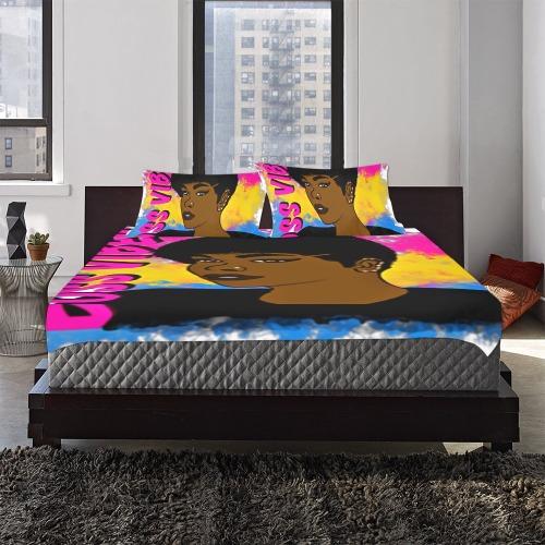 BBH CUSTOMS BOSS VIBES 3-Piece Bedding Set