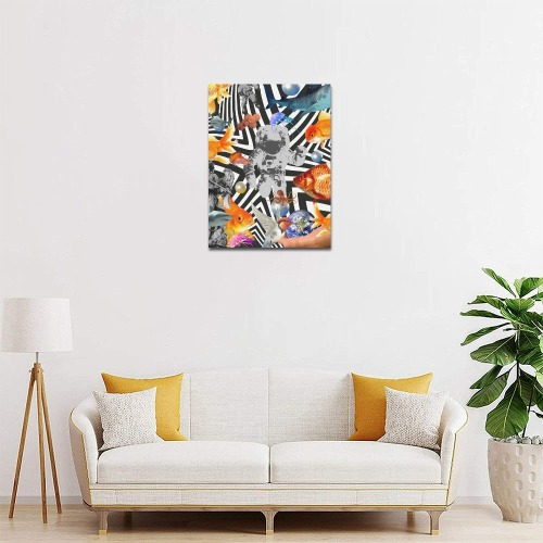 """POINT OF ENTRY 2 Canvas Print 11""""x14"""""""