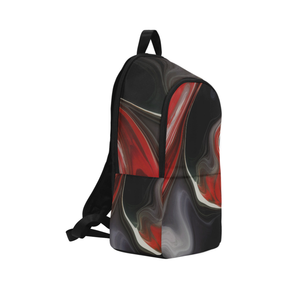 Sin City Swirl Fabric Backpack for Adult (Model 1659)