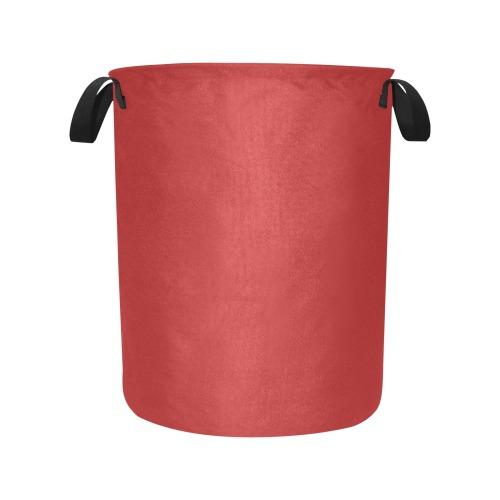 color firebrick Laundry Bag (Large)