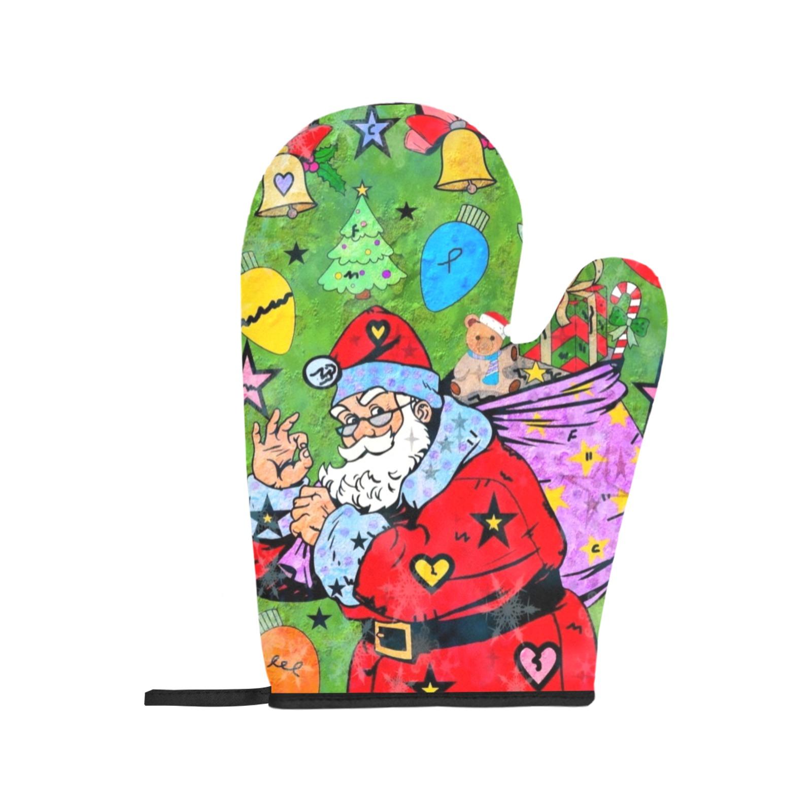 Christmas 2021 by Nico Bielow Oven Mitt & Pot Holder