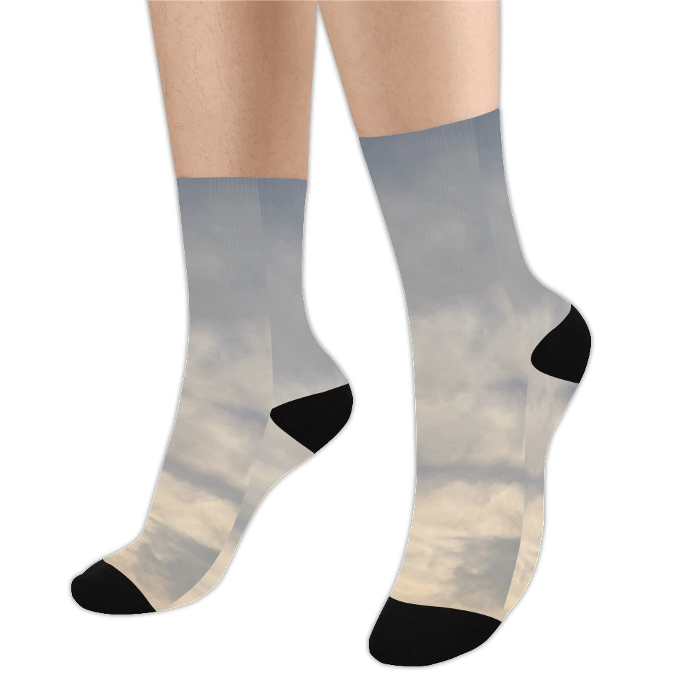 Rippled Cloud Collection Trouser Socks