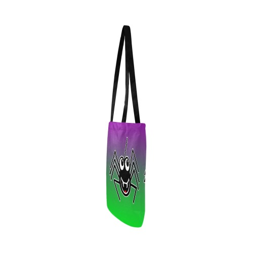 Smiling Spider Reusable Shopping Bag Model 1660 (Two sides)