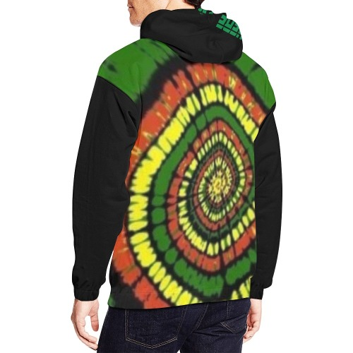 The Curses Stop Here All Over Print Hoodie for Men (USA Size) (Model H13)