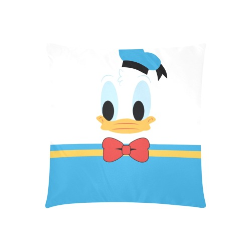 """donald Custom Zippered Pillow Cases 20""""x20"""" (Two Sides)"""