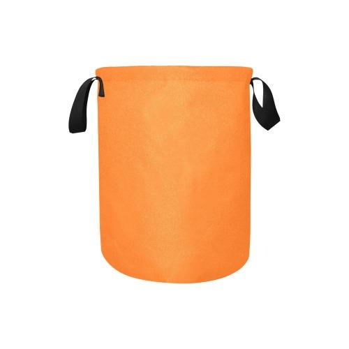 color pumpkin Laundry Bag (Small)
