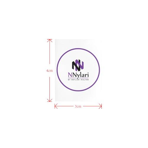 umberalla label Private Brand Tag on Umbrella Ribs (3cm X 4cm)