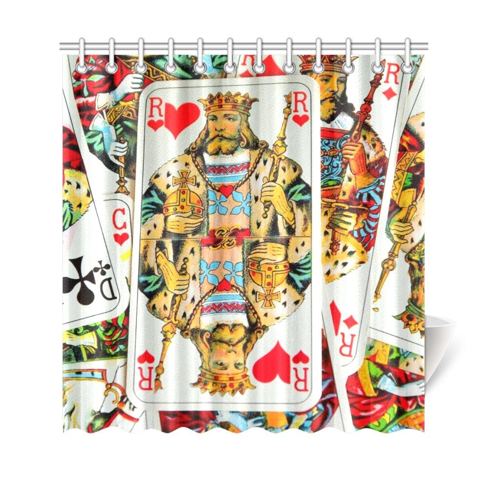 "KINGS Shower Curtain 69""x72"""
