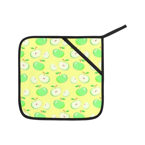 Green Apple Oven Mitt & Pot Holder