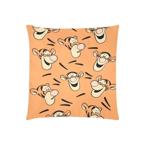 """Tigger Custom Zippered Pillow Cases 20""""x20"""" (Two Sides)"""