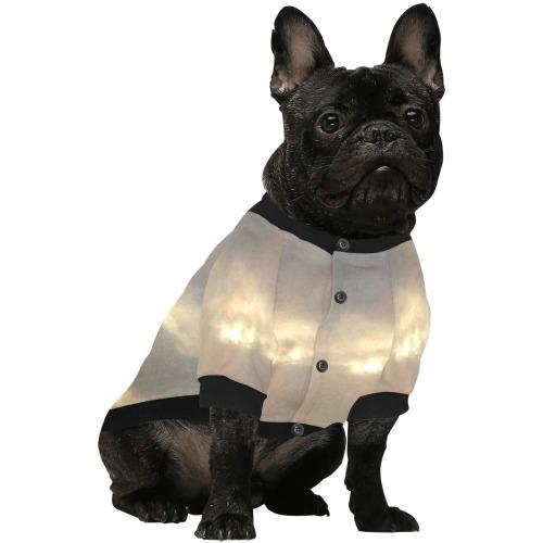 Cloud Collection Pet Dog Round Neck Shirt