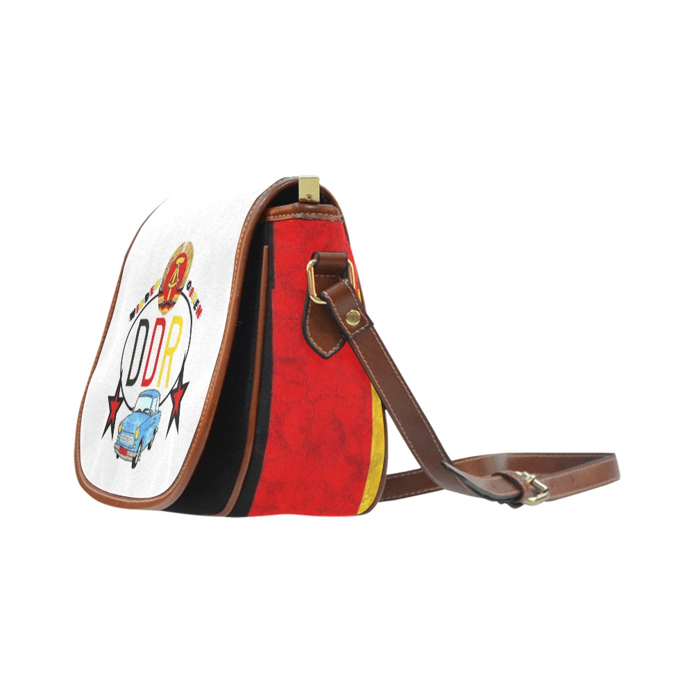Wilder Osten by Nico Bielow Saddle Bag/Large (Model 1649)