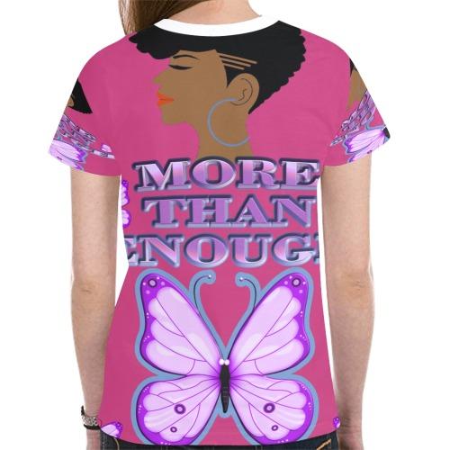 Speak Life New All Over Print T-shirt for Women (Model T45)