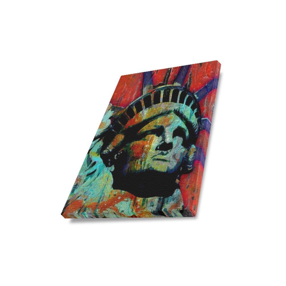 "STATUE OF LIBERTY Canvas Print 11""x14"""