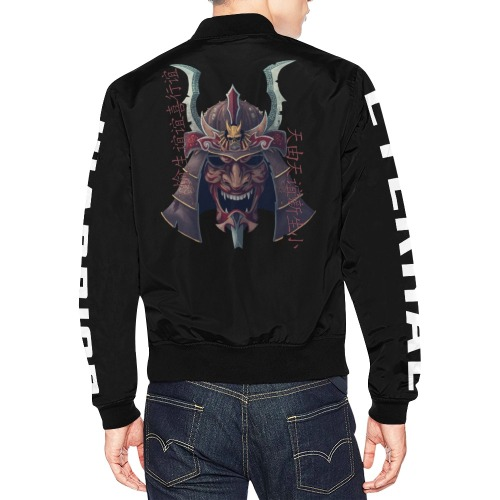 Warrior eternal All Over Print Bomber Jacket for Men (Model H19)