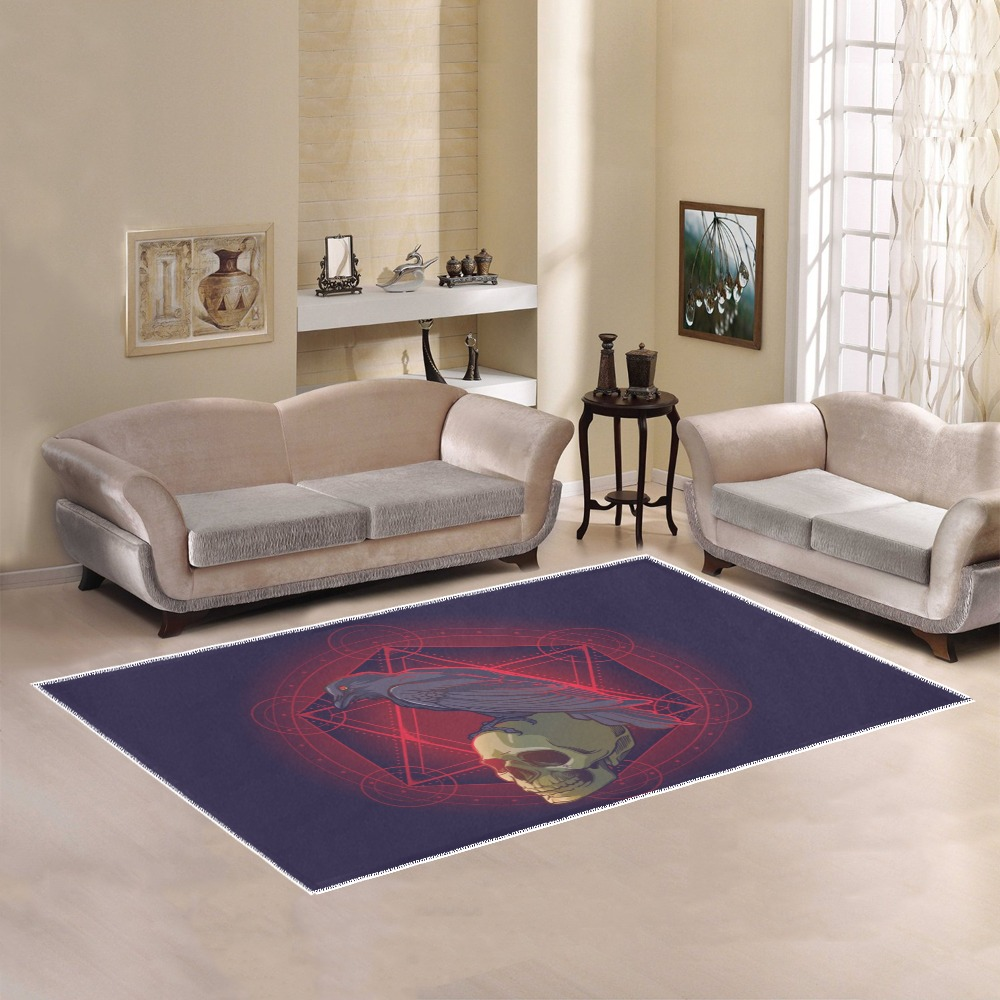 the Raven Area Rug7'x5'