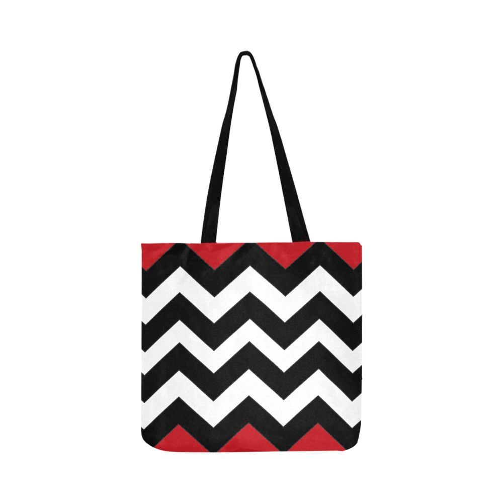 Twin Peaks Red Room Water Resist Tote Bag Reusable Shopping Bag Model 1660 (Two sides)